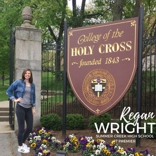 Regan Wright - College of the Holy Cross