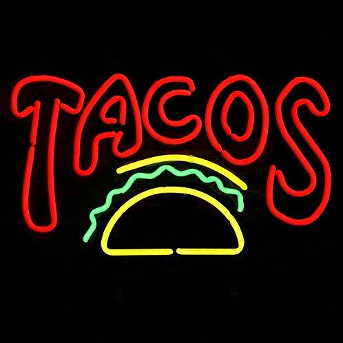 Tacos Neonreklame Leuchtwerbung