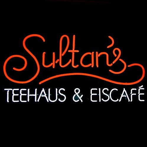 Sultans Teehaus & Eiscafe Neonreklame
