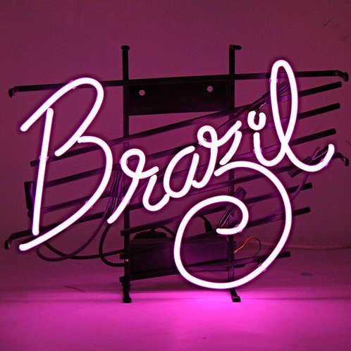 Brazil Bar Neon Sign Leuchtreklame