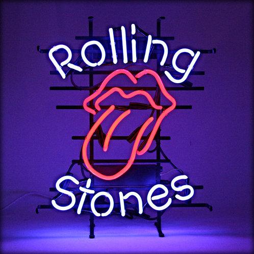 Rolling Stones Zunge Neon Leuchtreklame