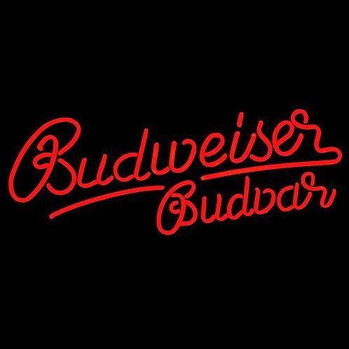 Budweiser Bier Neon Leuchtreklame
