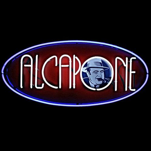 Al Capone Neonreklame Wien Bar Leuchtreklame