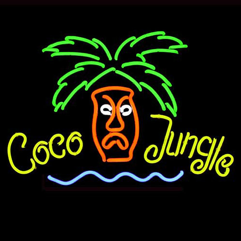 Coco Jungle Beachbar Neonreklame