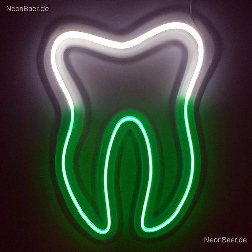Zahn Zahnarzt LED-Neon Leuchtwerbung