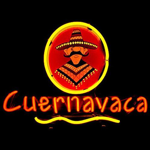 Cuernavaca Mexikaner Neonreklame