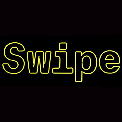 Swipe App-Entwickler Neonreklame Hamburg