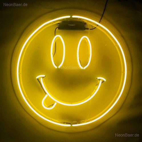 Smiley Neonglas Neonreklame
