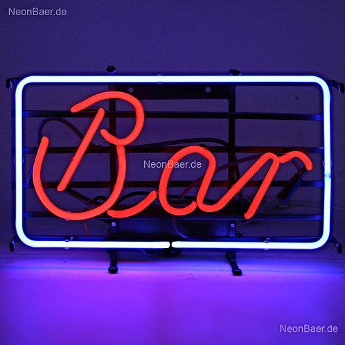 Bar Rechteck Neonwerbung Leuchtwerbung