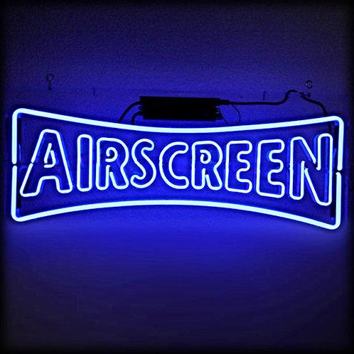 The Airscreen Company Logo Neonreklame