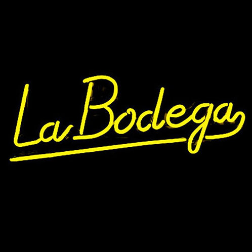 La Bodega Weinstube Neon Leuchtreklame