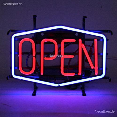 Open Big Neonreklame Leuchtreklame
