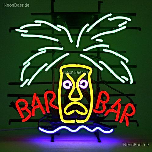 Bar Bar Palme Neon Leuchtreklame