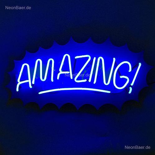 Amazing Neonreklame Neonglas Leuchtreklame
