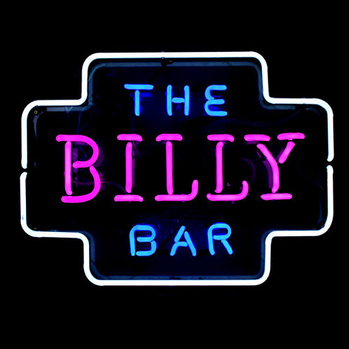 The Billy Bar Neonreklame Neonwerbung