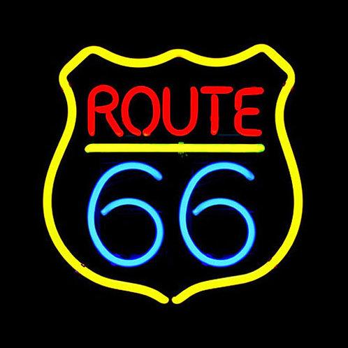 Route 66 Neonreklame Leuchtreklame