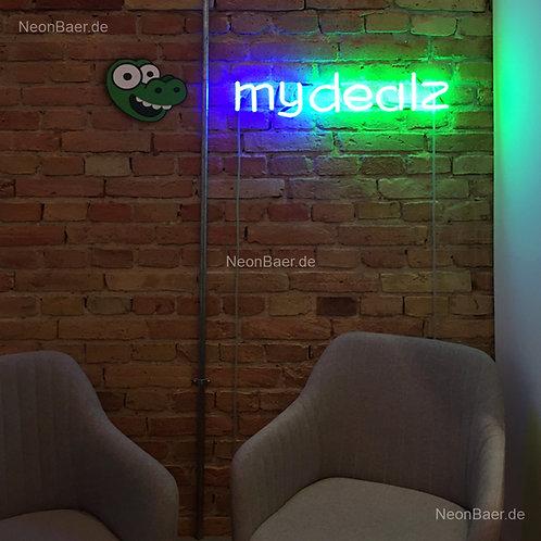 mydealz Neonbuchstaben Leuchtreklame