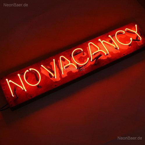 Vacancy No Vacancy Neonreklame Leuchtreklame