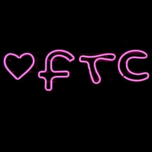 FTC Fair Trade Cashmere Neon Leuchtreklame