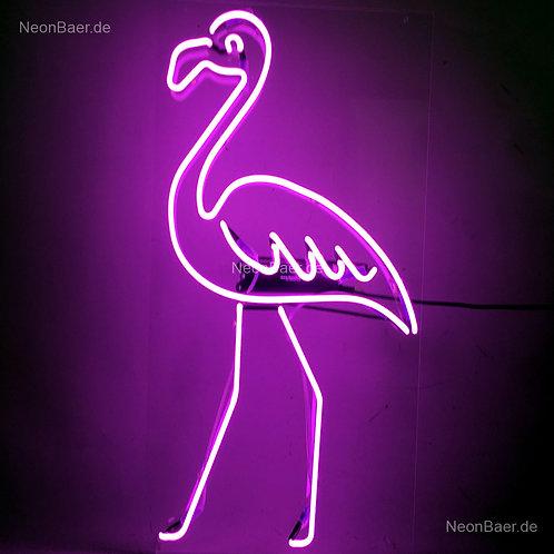 Flamingo Neonreklame Leuchtwerbung
