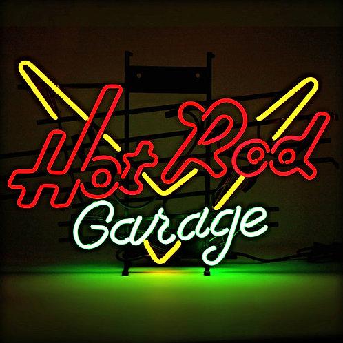Hot Rod Garage Neonreklame