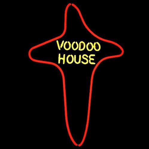 Voodoo House Neon Leuchtreklame
