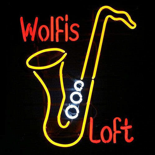 Wolfis Loft Neonreklame Leuchtreklame