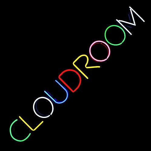 Cloudroom Neonreklame Neonwerbung