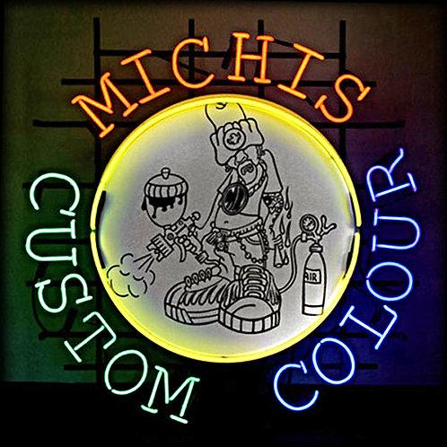 Michis Custum Colour Leuchtwerbung