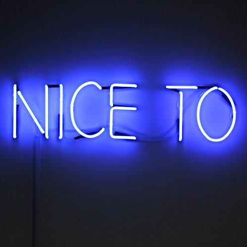 Nice To Neonreklame Neonwerbung