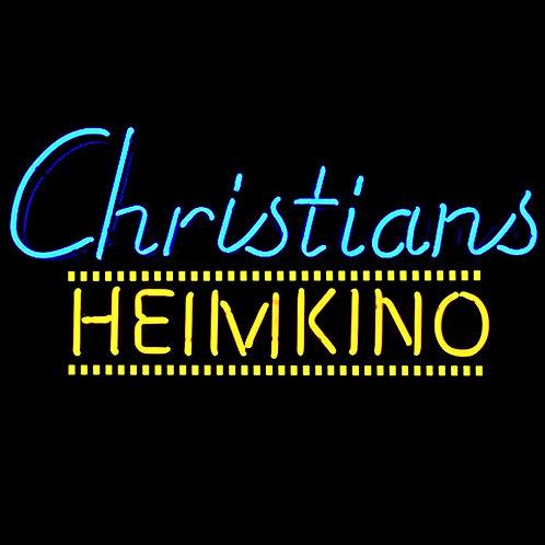 Christians Heimkino Neonreklame