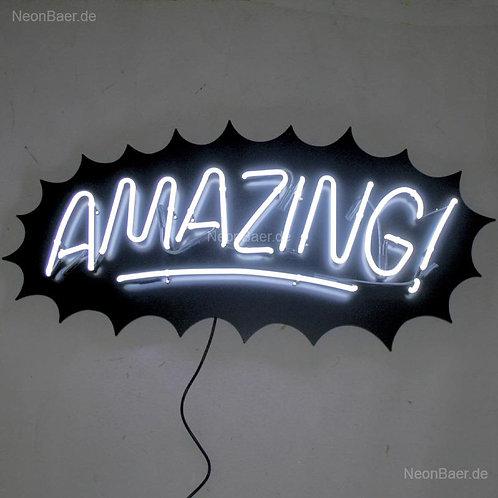 Amazing Neonreklame Leuchtreklame
