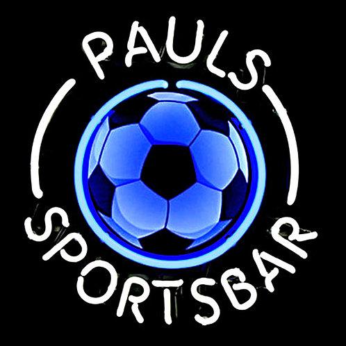 Pauls Sportsbar Neonreklame Leuchtreklame