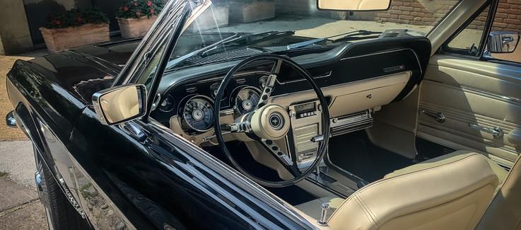 Ford Mustang Cabrio Nero 1967 Noleggio A