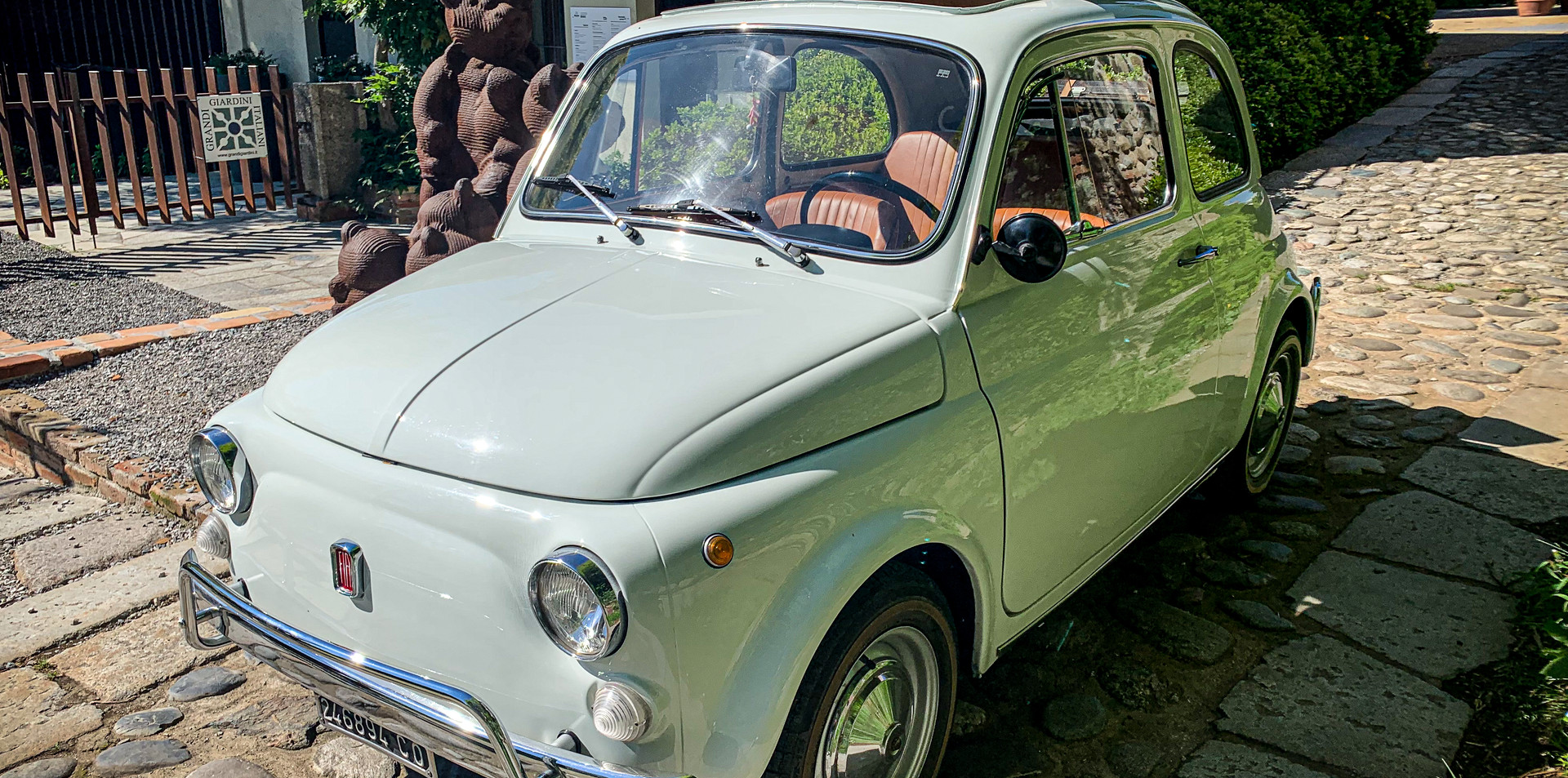 Fiat 500 L Bianco Noleggio Auto Matrimon