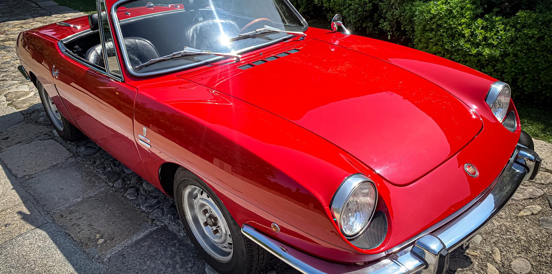 FIat 850 Spider Noleggio Auto Matrimonio