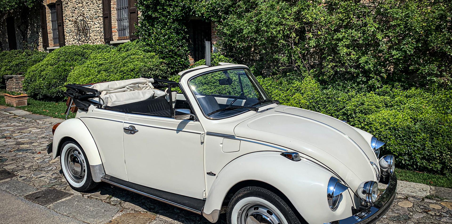 Vokswagen Maggiolino Cabrio Bianco 1972