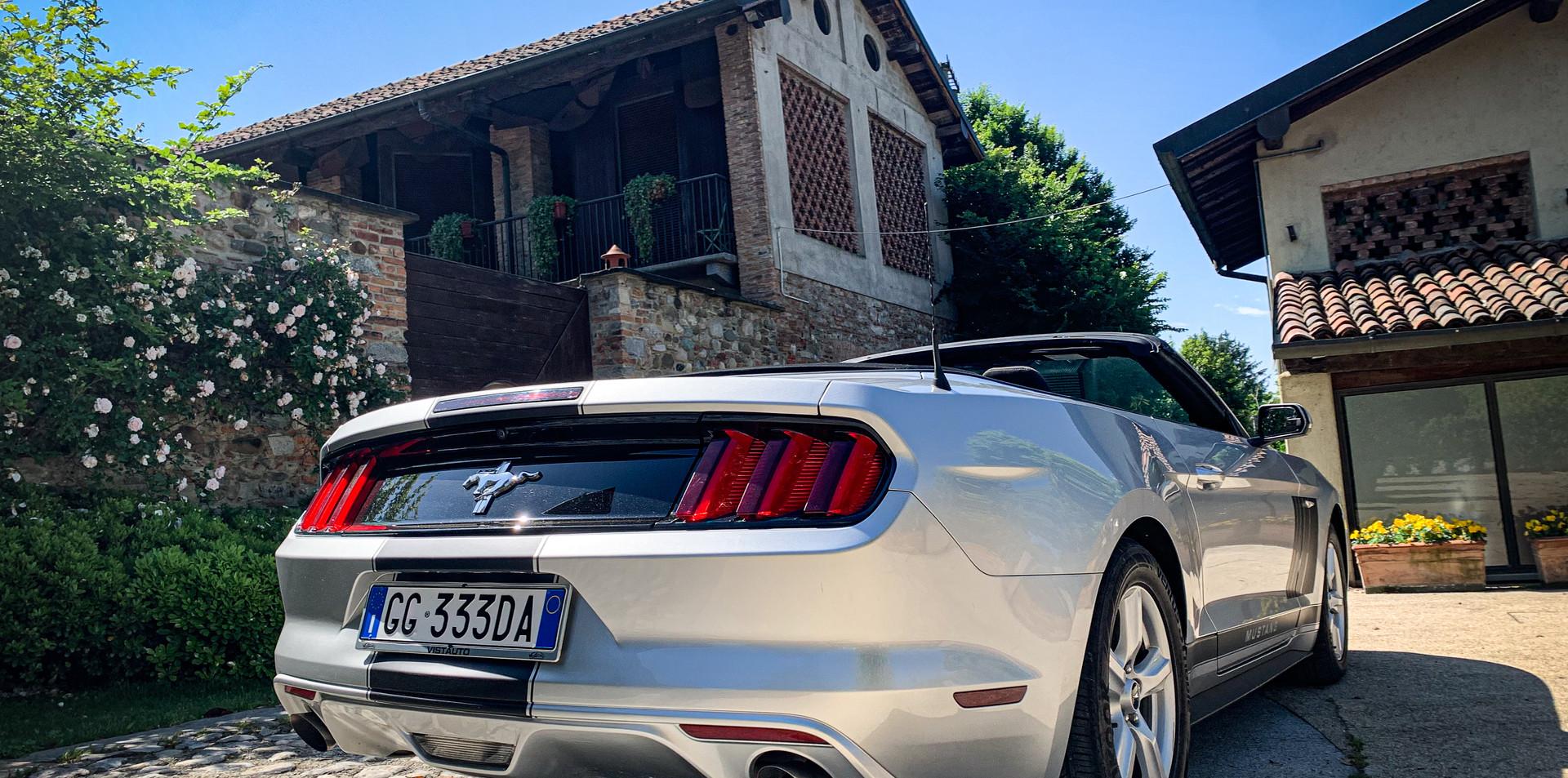 Noleggio Ford Mustang Matrimonio Milano