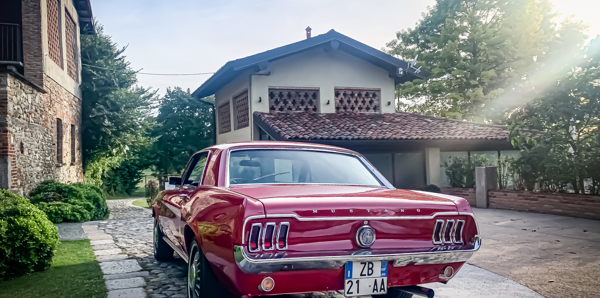 Ford Mustang Coupè Noleggio Auto Matrimo