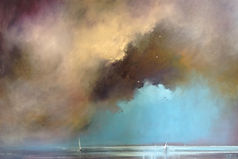 Beautiful skies by artist Claire Frances Smith