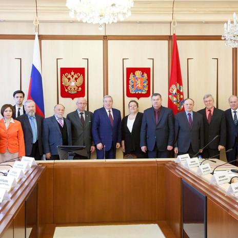 Встреча просветителей с правительством Красноярского края