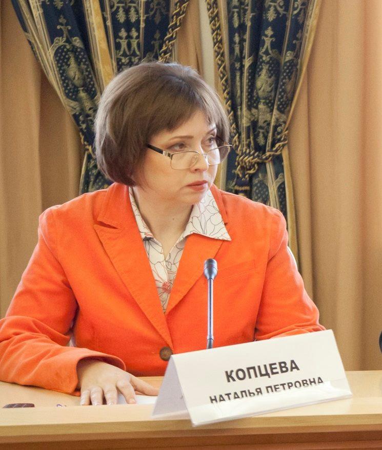 Директор Содружества просветителей Красноярья Наталья Копцева