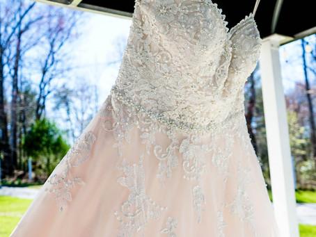 Čistenie svadobných šiat u Popolušky