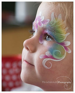 face paint christchurch rangiora party ideas kids girls