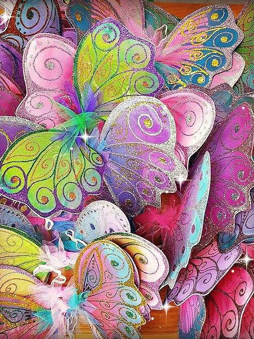 Large Children's Wings - Colour