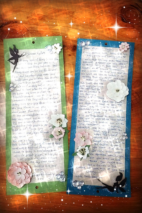 Receive a Faerie Letter