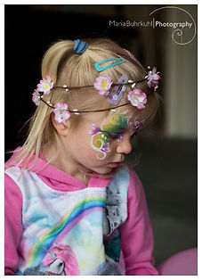 face painting christchurch girls rangiora fairy