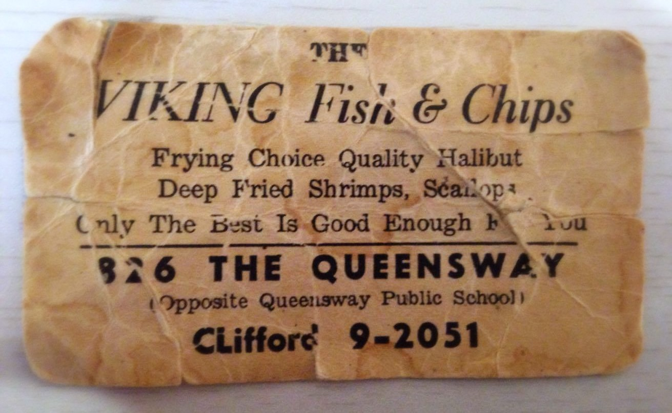 50 Year Old Business Card