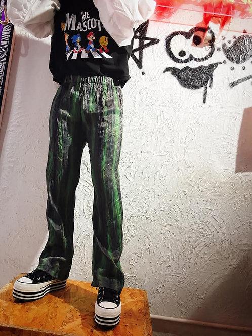 Korea Flow - Wrinkle Tie Dye Pants