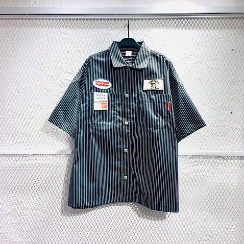 Power To The People - Stripe SS Shirt
